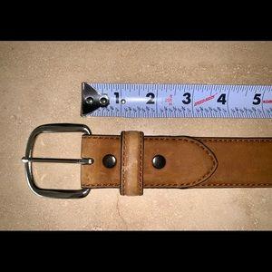 Ariat Full Grain Leather Nubuck Tan Belt